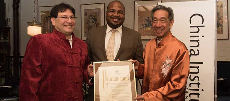New York City Proclaims China Institute Day on Lunar New Year