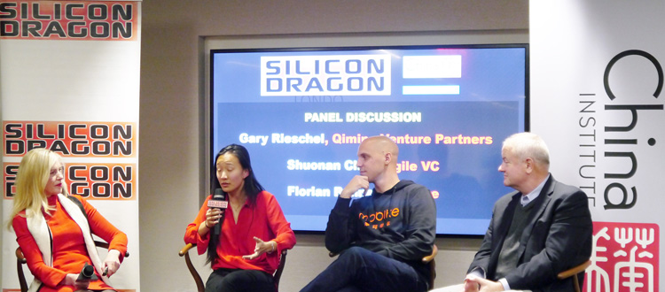 Silicon Dragon Salon at China Institute <br><h5><em>Tech experts see innovation and growth</em></h5>