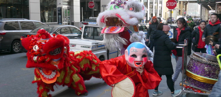 Celebrating the Year of the Pig at China Institute's Family Festival