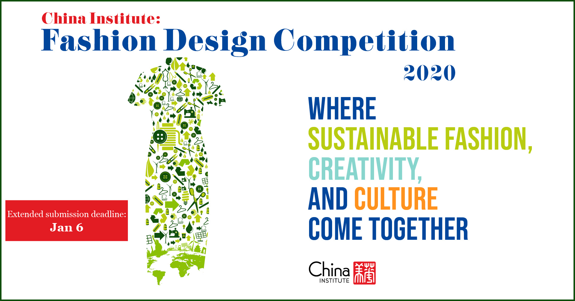2020 Fashion Design Competition China Institute