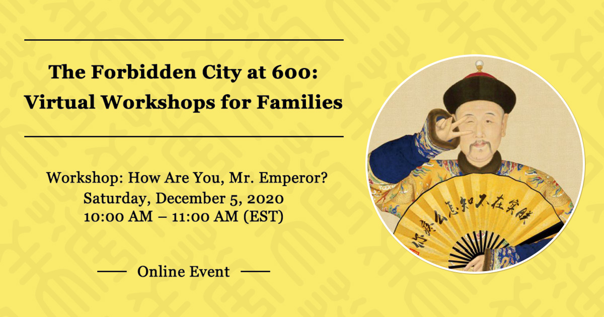 Virtual Workshops for Families 2