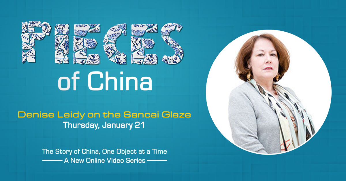 Denise Leidy on the Sancai Glaze