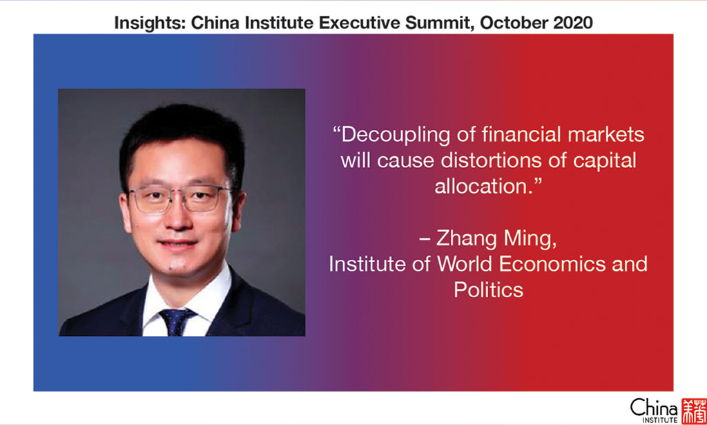 Quote from Zhang Ming