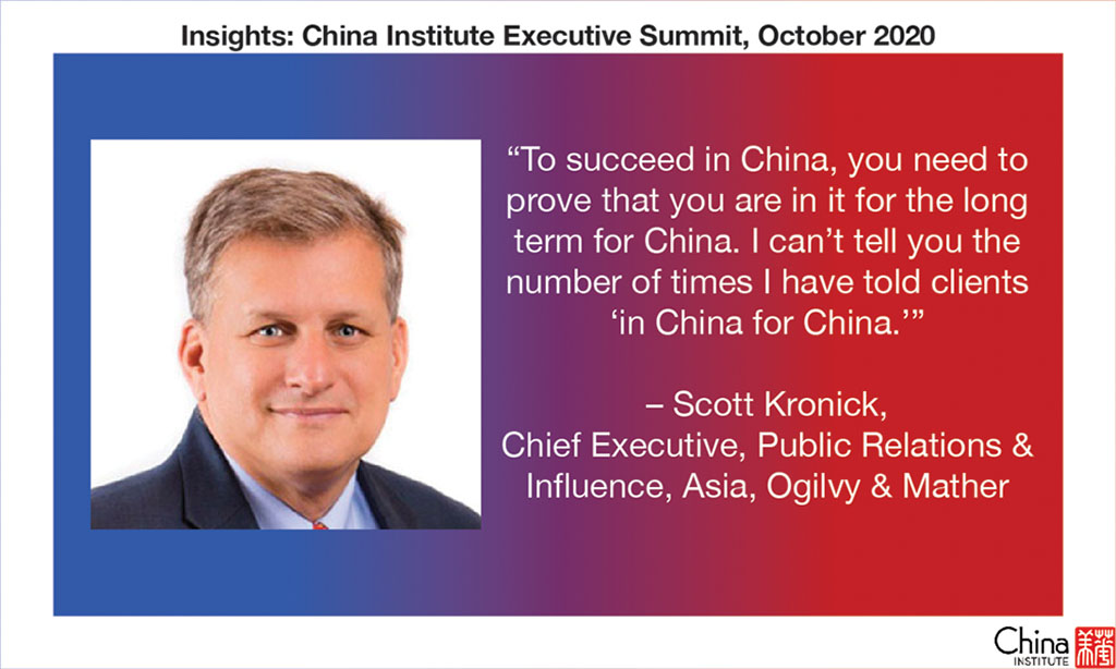 Quote from Scott Kronick
