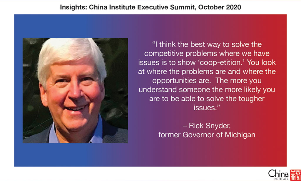 Quote from Rick Snyder