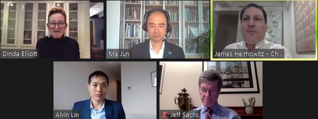Recap: Getting to Zero with Jeff Sachs and Ma Jun, 3.4.21