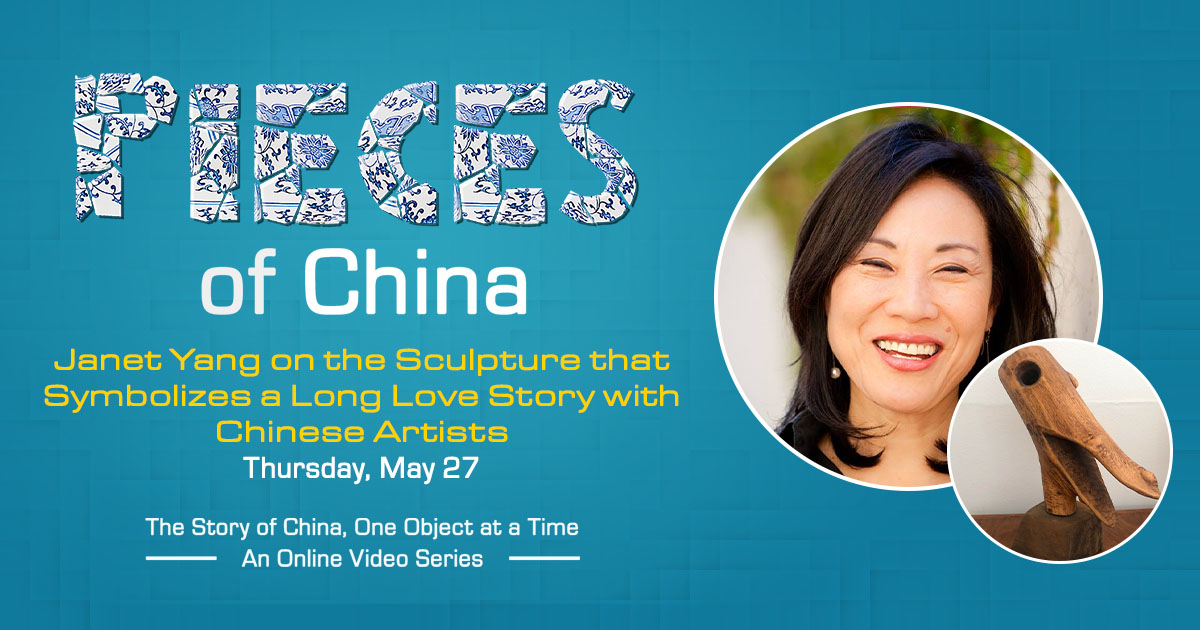 Pieces of China: Janet Yang on the Sculpture that Symbolizes a Long Love Story with Chinese Artists
